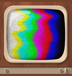 Retro tv test error vector