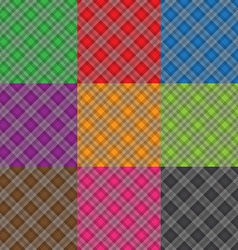 multicolor fabric pattern geometric background vector image