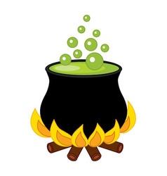 Cauldron - halloween vector