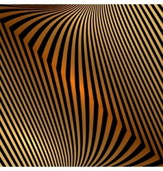 abstract metal orange gold background with zigzag vector image vector image