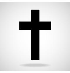 Cross Christian Symbol vector image