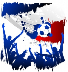 world cup France vector image vector image