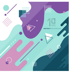 abstract background with geometric design vector image