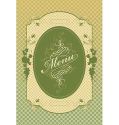 apple menu vector image