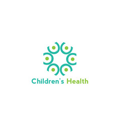 Childrens health vector