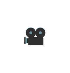 cinema camera isolated icon vector image