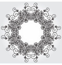 lace element vector image