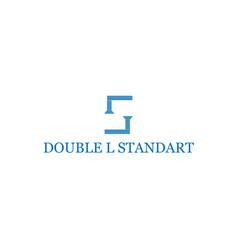 letter s logo design vector image