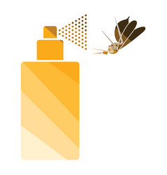 mosquito spray icon vector image