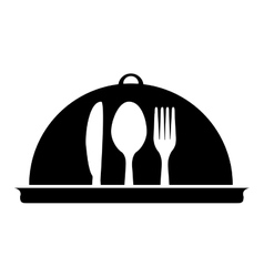 restaurant related icon image vector image