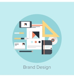 Branding vector image