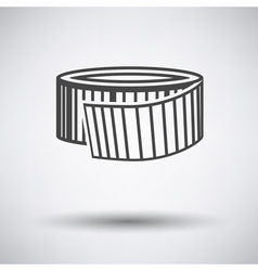 Measure tape icon vector image vector image
