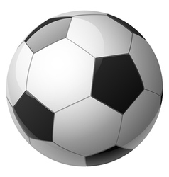 ball white vector image vector image