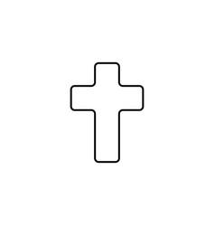 cross icon vector image
