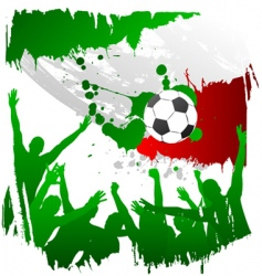 world cup Italy vector image vector image