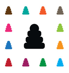 Isolated toy icon game element can be used vector