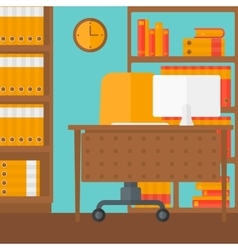 Background of business office vector image