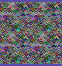 colorful geometric diagonal square tile mosaic vector image