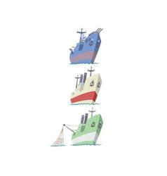 flotilla vector image