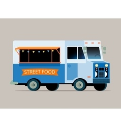 food truck vector image