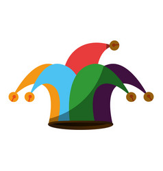 harlequin icon vector image