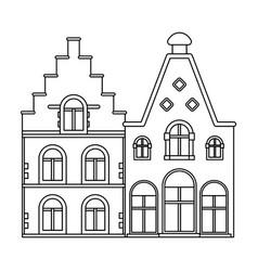 Housing in belgiumthe dark belgian wolf belgium vector