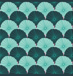 mermaid or fish scale lotus leaves design in a vector image
