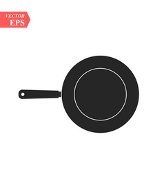 panboil iconkitchen tool symbol isolated for web vector image