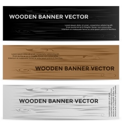 Web Banners with Leather Texture Different Colored vector
