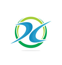 business finance logo image vector image vector image