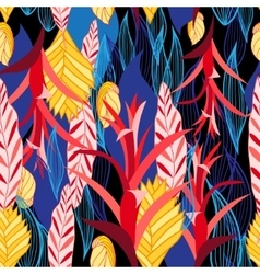 pattern of plants vector image vector image