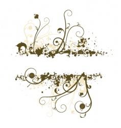grunge banner vector image vector image