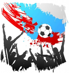 world cup Russia vector image vector image