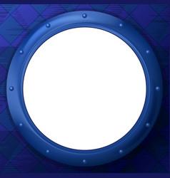 frame porthole vector image