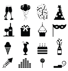 Party icon vector