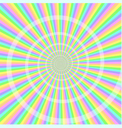 Pastel light with spiral abstract background vector