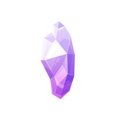 Sapphire carat gemstone violet amethyst mineral vector