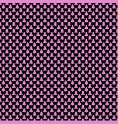 Seamless geometrical pine tree pattern background vector