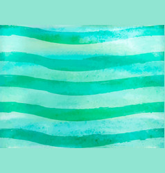 seamless pattern green ombre watercolor vector image