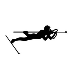 Shooting from prone positions in biathlon vector