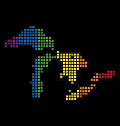 Spectrum dot lgbt great lakes map vector
