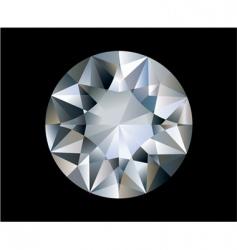 vector diamond vector image vector image