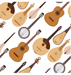 stringed dreamed musical instruments classical vector image vector image
