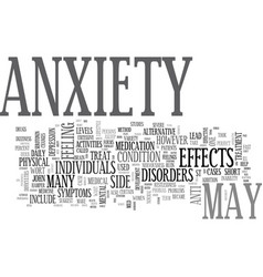 Anxiety and stress use nlp and overcome them and vector