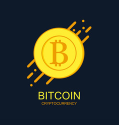 bitcoin ligo vector image