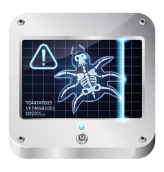 bugscan vector image