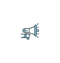 marketing icon design startup icon design vector image