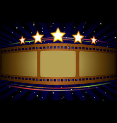 movie theater background vector image