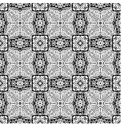 pattern line art tile background vector image