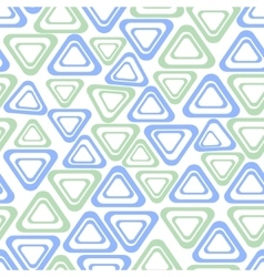 Seamless background with simple triangle vector